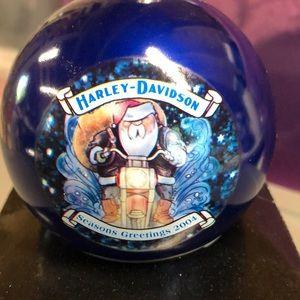 Harley Davidson 2004 Christmas bulb